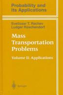Mass Transportation Problems: Applications Part 2