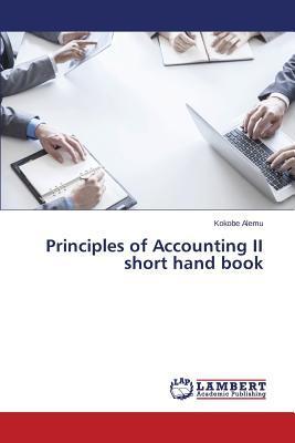 Principles of Accounting II short hand book