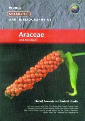 World Checklist and Bibliography of Araceae
