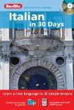 Italian in 30 Days with Audio CD