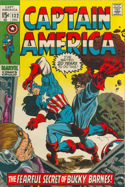 Captain America Vol.1 #132
