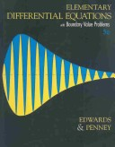 Elementary Diffential Equations with Boundary Value Problems, Fifth Edition