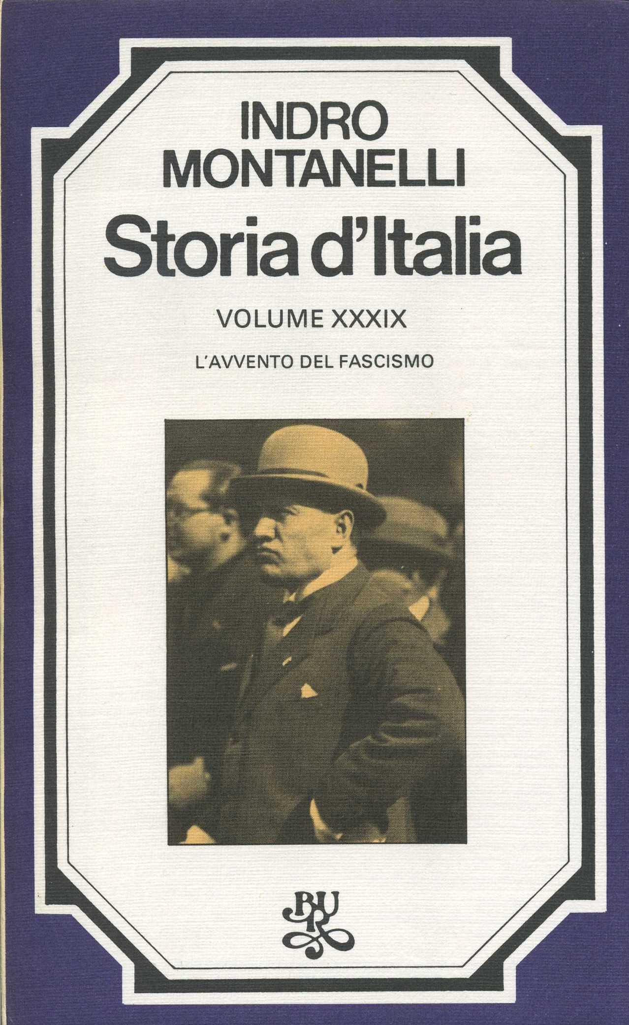 Storia d'Italia / vol. XXXIX