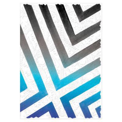 "Christian Lacroix Sol Y Sombra A5 8"" X 6"" Notebook Sunrise Blue"