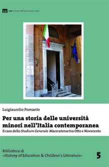 Per una storia delle università minori nell'Italia contemporanea