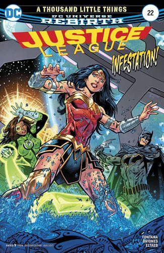Justice League Vol.3 #22