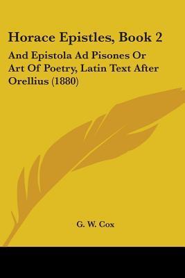 Horace Epistles, Book 2