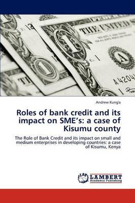 Roles of bank credit and its impact on SME's