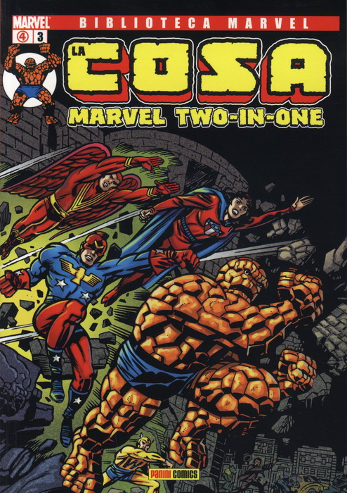 Biblioteca Marvel: La Cosa #3 (de 16)