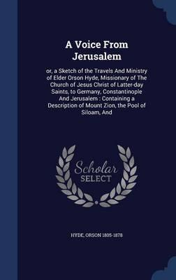 A Voice from Jerusalem