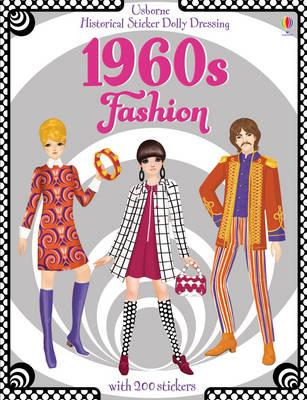 Historical Sticker Dolly Dressing 1960's Fashion