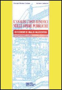 L' analisi costi-benefici nelle opere pubbliche ed elementi di analisi multicriteri