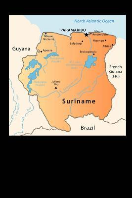 Map of Suriname Journal