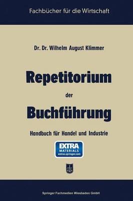 Repetitorium Der Buchführung