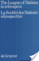 The League of Nations in retrospect