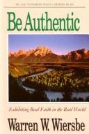 Be Authentic Genesis...