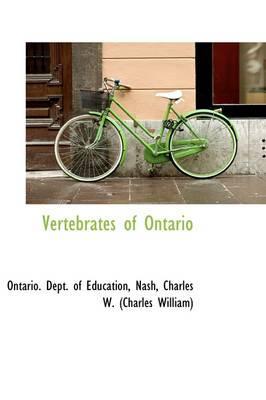 Vertebrates of Ontario
