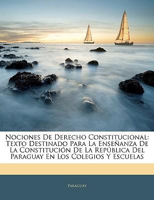 Nociones de Derecho Constitucional