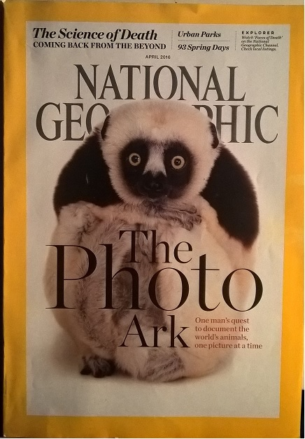 National Geographic, April 2016