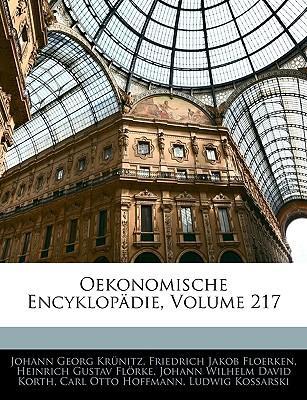 Oekonomisch-technologische Encyklopädie, 217. Band