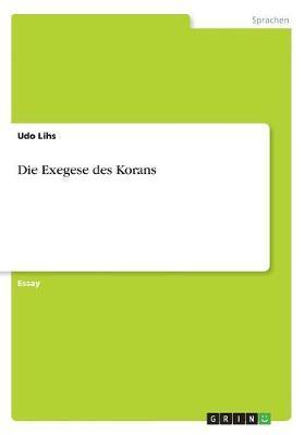 Die Exegese des Kora...