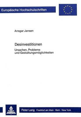 Desinvestitionen