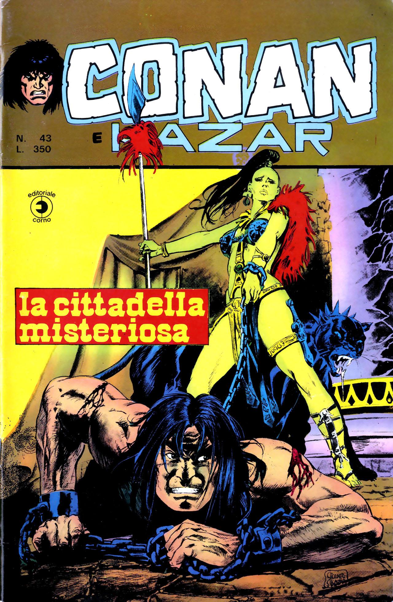 Conan e Ka-zar n. 43