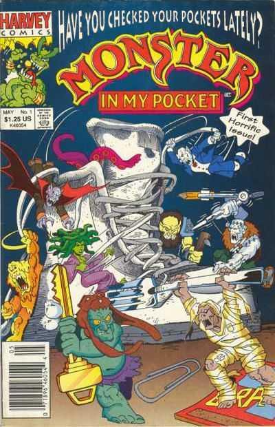 Monster in My Pocket #1