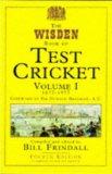 The Wisden Book of Test Cricket: 1877-1977