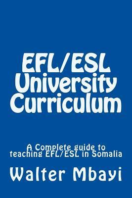 Efl/Esl University Curriculum