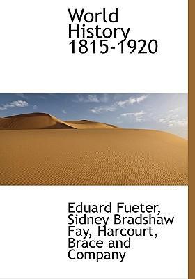 World History 1815-1920