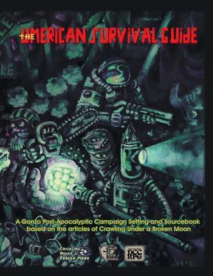 Umerican Survival Guide, Delve Cover