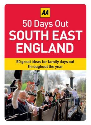 50 Days Out South East England (Aa 50 Days Out Boxed Cards)