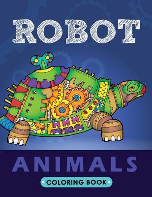 Robot Animals Coloring Book