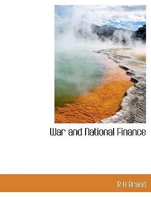 War and National Finance