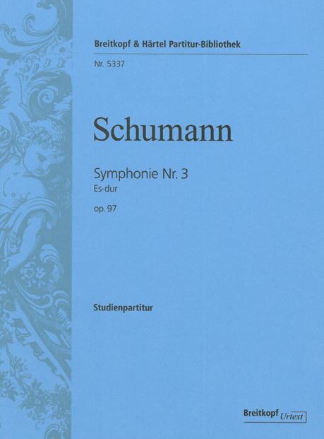 Symphonie Nr. 3 Es-Dur (Rheinische Symphonie)