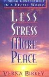 Less Stress, More Peace