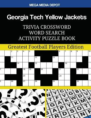 Georgia Tech Yellow Jackets Trivia Crossword Word Search Activity Puzzle Book