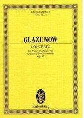 Violinkonzert a-Moll op.82, Partitur