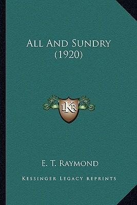 All and Sundry (1920)