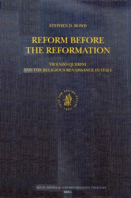 Reform Before the Reformation