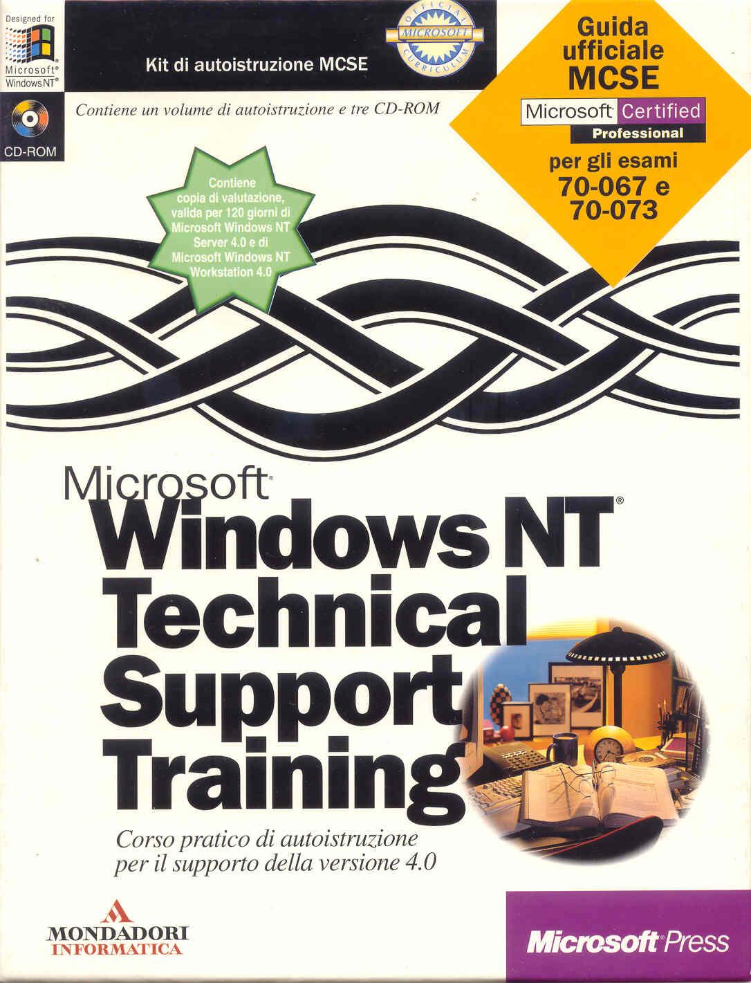 Microsoft Windows NT Technical Support Training