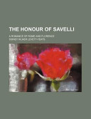 The Honour of Savelli