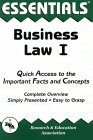 The Essentials of Business Law I