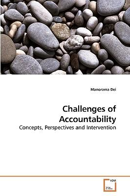 Challenges of Accountability