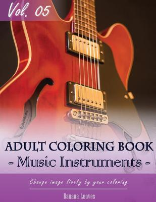 Music Instruments Coloring Book Arts