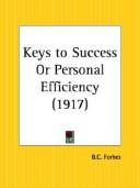 Keys to Success or Personal Efficiency
