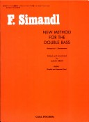 O492 - Simandl New Method for the Double Bass/Book 1