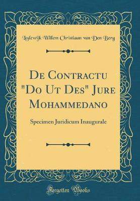 de Contractu Do UT Des Jure Mohammedano