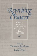Rewriting Chaucer